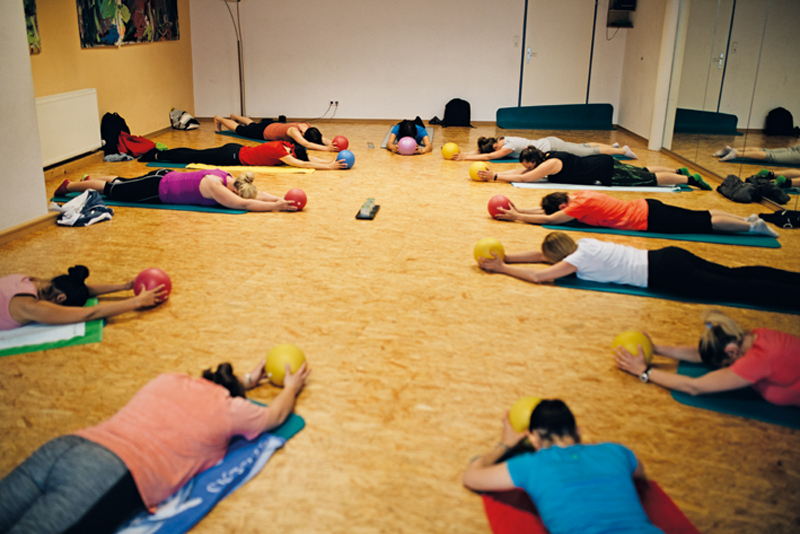 Pilates für Leichtfortgeschrittene &  Fortgeschrittene