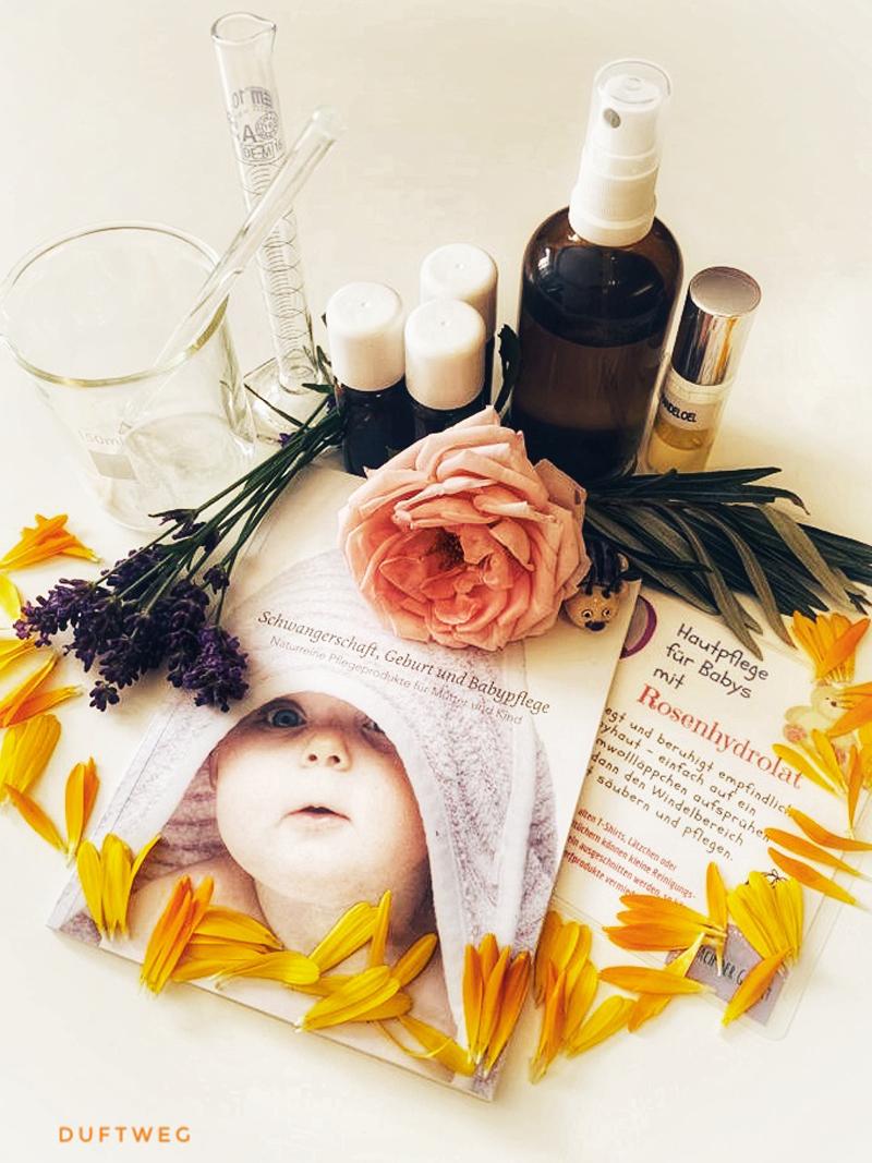 Natürliche Hautpflege von Neugeborenen
