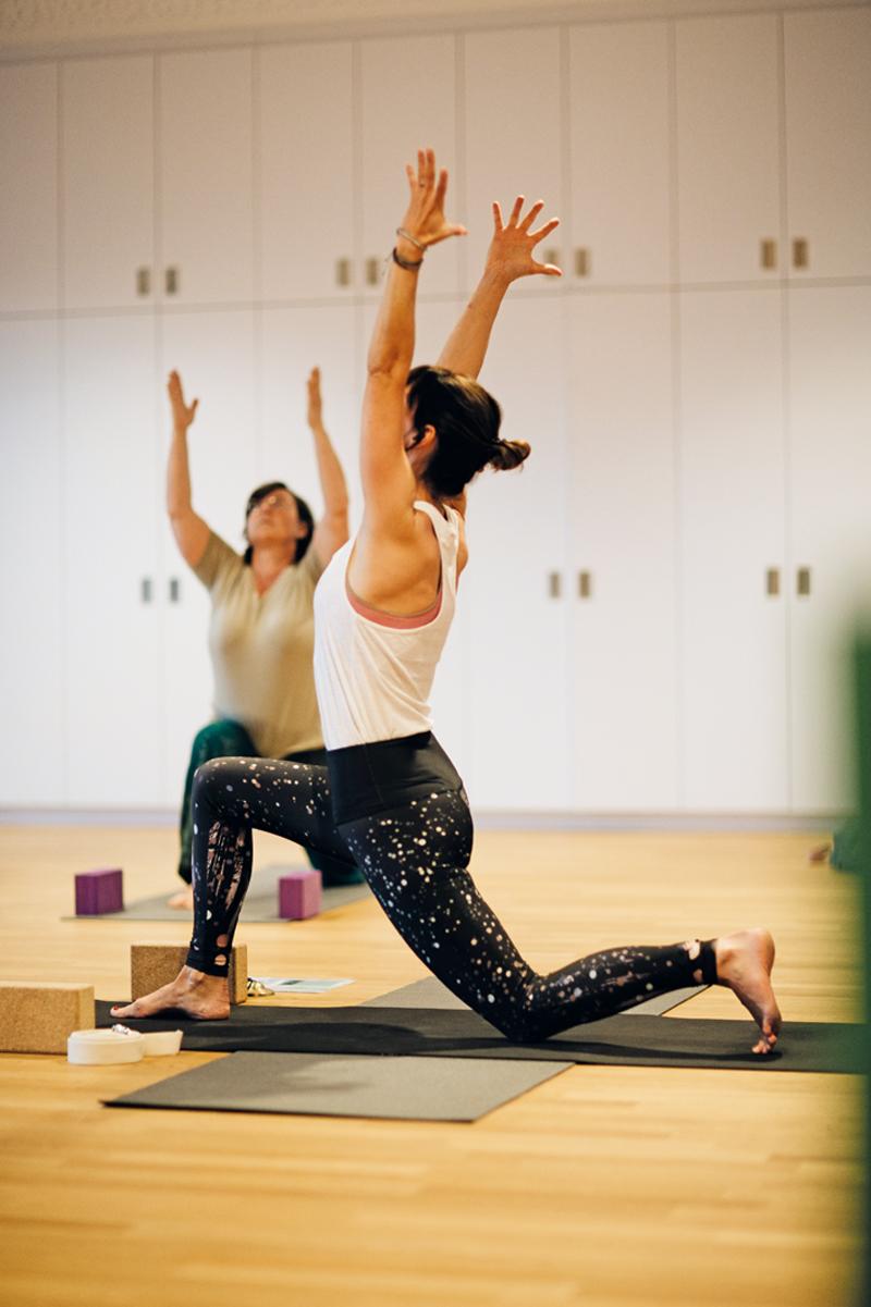 Yoga am Mittwoch
